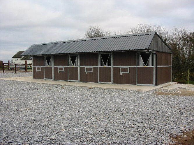 Outdoor Stables Allenweld Quality Equestrian And